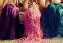 "Hair Color DIY(613A#) / With blonde DIY 613a hair extensions, you can dye any colorful hair colors you desired, such as blue, red, purple, rainbow, ombre.etc. Use code ""pinterest"" to get $10 off. www.vpfashion.com"