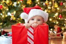 Babies and Christmas / I bambini e il magico Natale: cosa c'è di più tenero di un bambino che aspetta Babbo Natale?
