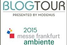 #BlogTourAmbiente / This year we partnered with Modenus to bring the first ever Blog Tour to Ambiente. Here's our stellar group of design and lifestyle bloggers and writers from the US and Canada and some of the highlights from this year's tour.