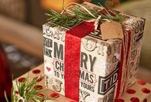 Christmas Gift Wrap / All festive and holiday magic thrown into gift wrapping thereby presenting an unforgettable gift giving experience.  I Christmas Gift Wrap I  Holiday Gift Wrap I Christmas Gift Wrapping Ideas