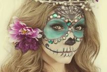 Halloween Make-Up Inspiration:Sweet Like Sugar Skulls / Halloween doesn't have to be scary!