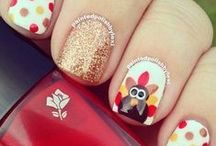 Fantastic Thanksgiving Nail Art / An album full of turkey and pumpkins Galore