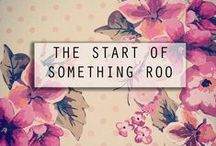 The Latest News From Roo Beauty HQ / Reporting all the latest news and shenanigans from Roo Beauty HQ