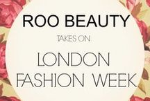 Roo Beauty takes on LONDON FASHION WEEK SS16 / A board dedicated to a group of very talented techs sporting Roo Beauty products at this years London Fashion Week!
