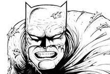 DC Comics / Meus desenhos dos personagens da DC Comics.          My drawings of the DC Comics characters.