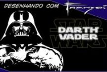 Desenhando com Franzoi - Star Wars / Vídeos onde desenho os personagens de Star Wars. Videos where I'm drawing the Star Wars characters.