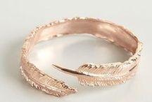 copper + rose gold