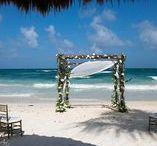 Ceremony Decor / Wedding decor, wedding ceremony, wedding flowers, wedding design, wedding arch, beach wedding, destination weddings, wedding ideas, wedding inspiration
