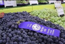 Agriculture / Fresno County is the top agricultural producing region in the world and at The Big Fresno Fair we showcase more than 350 varieties of fruits and vegetables!