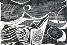 Collagraph / #Collagraph technique of #printmaking