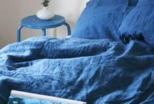 Deco: Blue / Medium to dark blue home accents and decor. For lighter shades see Deco: Light Blue :) / by Isabelle Gilbert