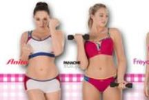 LACE: sports / Treat your body like a temple.  Fit, support and function – big cup sport bras for all types of exercise.
