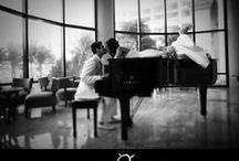 Mariage Noir & Blanc - Black & White Wedding / En noir et blanc, sur une note de musique. Je marie mes parents, Canal Vie, épisode #1.
