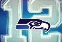"""Sports:  Seattle Seahawks / """"SEA""""     - """"HAAAAAAAAAAAWWWWWWWWWWWWKKKKKKKS!"""" / by Steve Grager †"""