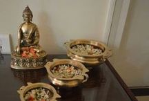 Indian Handicafts Items / Madhurya's exquisite collection of handicraft items including idols, decorative, candle holder and many more stuff. These items are best suited for gifting purpose.
