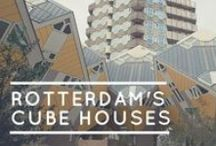 Rotterdam, The Netherlands / What to see and do when in #Rotterdam, The Netherlands. #art #culture #modern-architecture