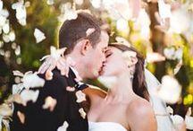 Just married / photos de mariés juste après leur cérémonie de mariage
