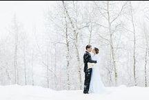 Mariage hivernal - Winter Wedding / Winter Wedding Inspiration