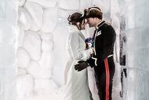 Hotel de Glace / Mariages à l'Hôtel de Glace, Québec, Canada. #Hoteldeglace. Weddings at the Hotel de Glace, Quebec City, Canada. #IceHotel