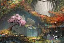 Illustration JUNGLE / Références illustrations de jungle