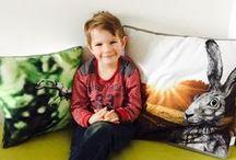 cushion for children // von ERIKA / #high #quality #finest #organic #cushion #kids // #hochwertig #qualitativ #gots #vegan #kissen #fürkinder