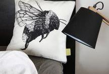 cushion // von ERIKA / #nature #photography #illustration #cushion #pillow #gots #vegan #hare #rabbit #stag #beetle #salamander #cormorant #moose #elin #frost // #natur #fotografie #zeichnung #kissen #öko #bio #feldhase #hase #hirschkäfer #kormoran #elch #älg #elg #elin