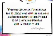 CanPlan Quotes & Tips / Anything and everything to help you fight cancer the right way