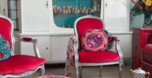 F&M: Charming Chairs / All chairs are part of our own features shown on our website. Double click the image to see the rest of the feature on www.featuresandmore.com