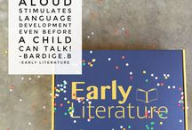 Early Literacy Facts / Facts on why reading for young children is important!
