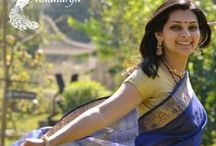 Elegant Sarees / A beautiful collection by Madhurya of the elegant pure silk sarees