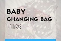Baby Changing Bag (Parent Hacks + Twin Organisation) / Do you need tips on how to pack a baby's changing bag? Are you wondering what items you will need to take for your baby? Are you expecting twins and wondering if you need double of everything? Here is some inspiration on how to pack a baby changing bag.