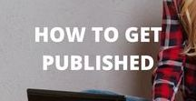How to get published / Learn strategies to help you get your first health writing work published. Browse all our posts related to getting published here.
