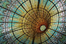 STAINED GLASS / ceiling