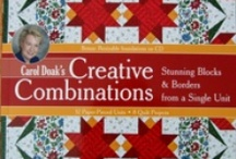 Quilt Books and Quilts / by Carol Doak
