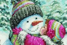 Cross stitch - Christmas / by Silvia Vanessa Carrillo Lazo