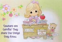 I like Precious moments / by Silvia Vanessa Carrillo Lazo
