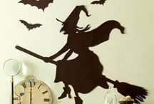 Witches - Halloween Decorations / Decorations for Halloween - Witch Theme - DIY