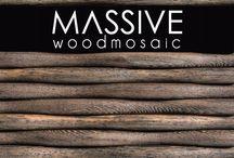 Massive Ahsap Mozaik / Massive Wood Mozaic