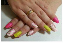 #nailart Greice - by Stephanie Marcolino / Mostrar as unhas artísticas da Stephanie Marcolino