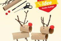 Kerst / Breng je huis in kerstsfeer met vrolijke kerstboomhangers, lichtjes, lantaarntjes en andere kerstartikelen!  Op de bord vind je o.a leuke kerst knutsel tips om in de kerstvakantie lekker met je kids te knutselen!