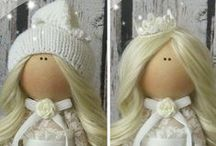 Dolls by Irina Bukina / This master STOPPED making dolls. Dolls pictures are stated here just to show her Art.