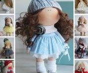 Dolls by Oksana Z. / Handmade textile dolls by master Oksana Z. (Russia)