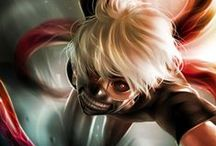 Tokyo Ghoul / One of my favorite animes!