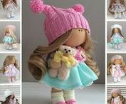Dolls by Maria L. / Fabric dolls handmade by Maria L. (Kazan, Russia)