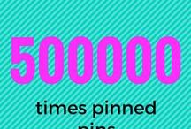 500.000 times pinned pins / Everything which is pinned over 500000 times