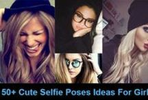 Selfie Poses Ideas / Selfie Poses Ideas for girls and tips and tricks which will help you to get great social media response.