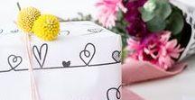 Muttertag | DIY Geschenkideen & Inspiration / Die schönsten DIYs, Rezepte und Geschenkideen zum Muttertag. Kuchen, Cupcakes, Blumen, Seife, Schmuck u.v.m. ... Für Mutti nur das Beste ❤