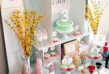 Sweet Table, Candy Buffet, Candy Bar / Sie sind bunt, sie sind lecker und ein Highlight auf jeder Party. Sweet Tables, Candy Buffets, Candy Bars. Hier kannst Du Dich inspirieren lassen, wie Du Sweet Tables, Candy Buffets und Candy Bars aufbauen, gestalten und ganz einfach selbst machen kannst.