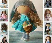 Dolls by Olga Gn / Dolls handmade by artist Olga Gn (Ulyanovsk, Russia).