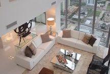 Home Design Living Room / Ideas para la decoración del Hogar CostaRealty - Más que una Inmobiliaria. web: www.costarealty.com.mx